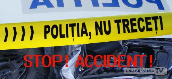 Accident mortal provocat de un șofer de 19 ani din Teaca