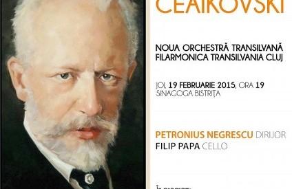 BISTRIȚA: Concert extraordinar PIOTR ILICI CEAIKOVSKI