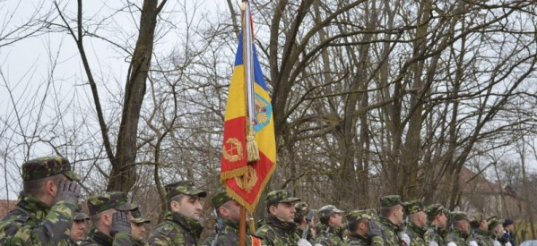 BRĂTENI: Ceremonial militar și relegios în memoria eroului Ioan Sabău