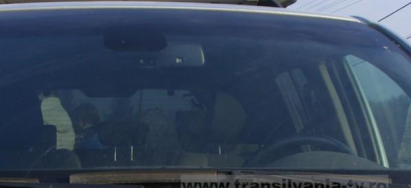 Minoră de 7 ani, lovită de o mașină în Bistrița