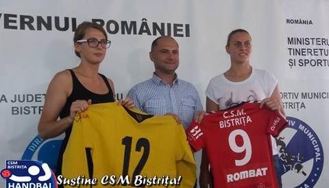 Irina Ivan și Ana Maria Măzăreanu au semnat cu CSM Bistrița