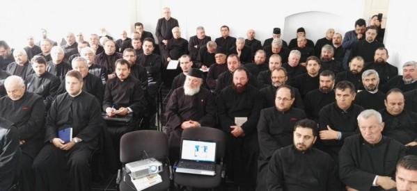 Întâlnirea clericilor din Protopopiatul Bistrița în cadrul Conferinței de toamnă