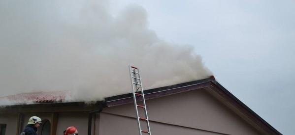 Incendiu produs azi în localitatea Cepari