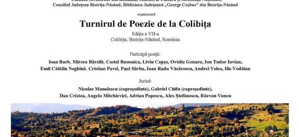 Turnirul de poezie de la Colibița, la ediția a VII-a