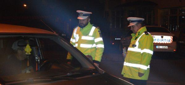 Controale în trafic, efectuate de polițiștii bistrițeni, pentru depistarea celor care conduc autovehicule sub influența băuturilor alcoolice