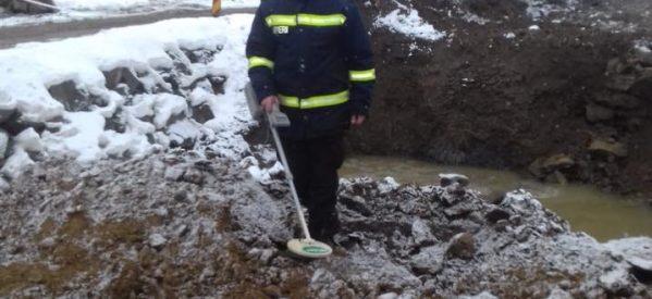 Patru grenade descoperite în Lunca Ilvei