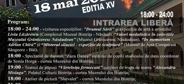 Noaptea Muzeelor în Bistrița (18 mai)