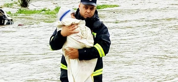 Persoane salvate din calea apelor în Bistrița-Năsăud