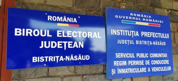 Repartizarea experților electorali (președinți și locțiitori ai secțiilor de votare) din județul Bistrița-Năsăud