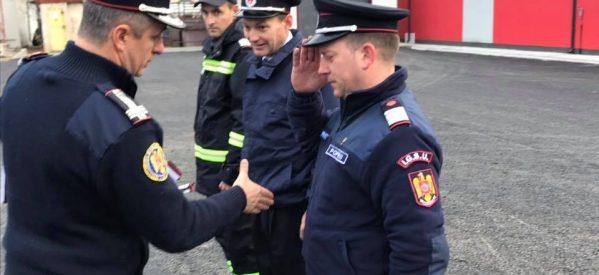 Avansări în grad la ISU Bistrița-Năsăud